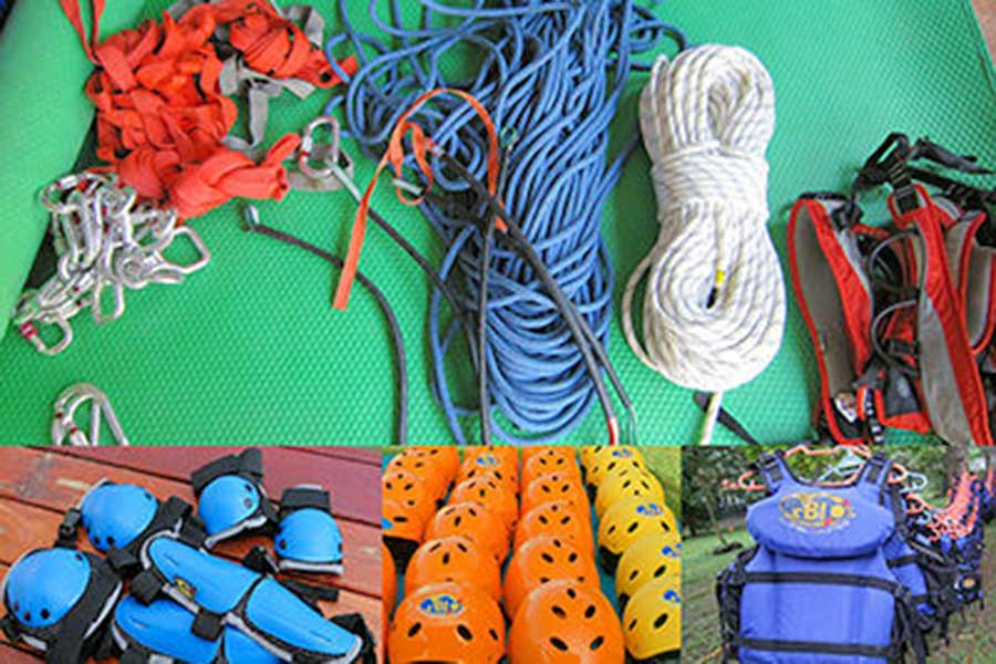 safety equipment, canyoning, penet river