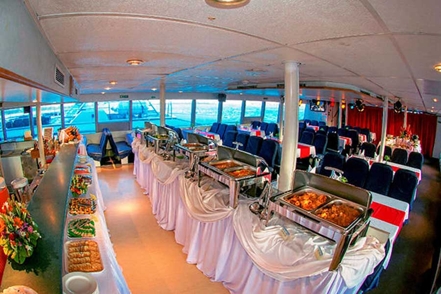 dinner meals, sunset dinner cruises, bali hai