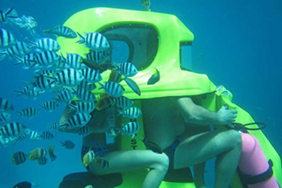 underwater scooter, aqua star, water sports