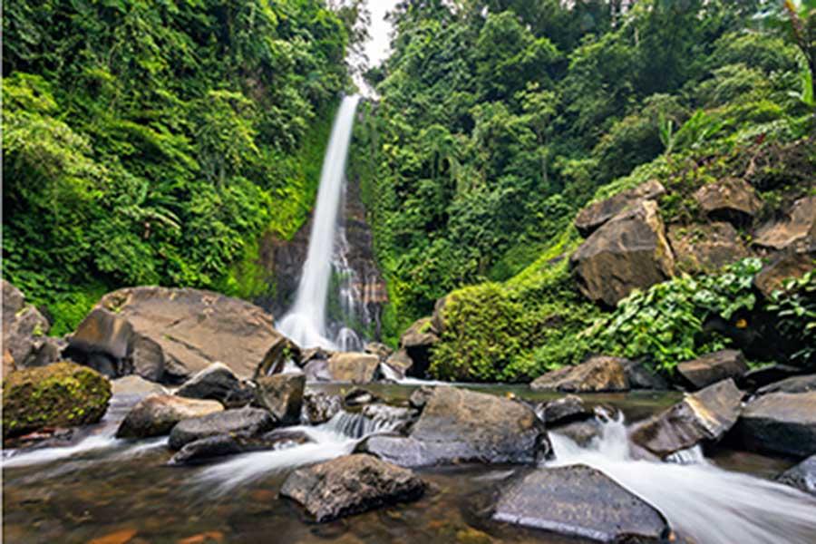 bali vacation package, bali tour, gitgit waterfall