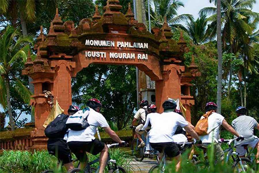 gusti ngurah rai monument, carangsari village
