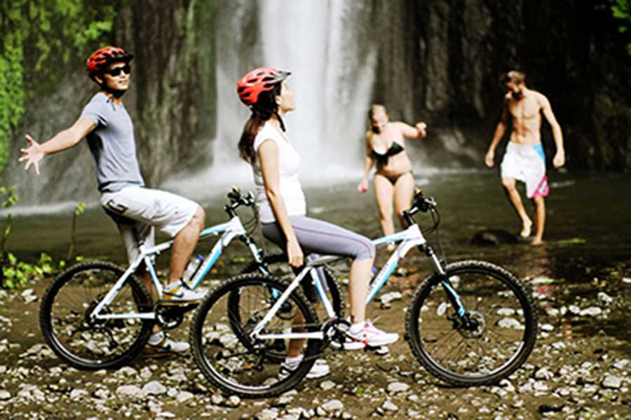 kintamani cycling tour, villages cycling tour