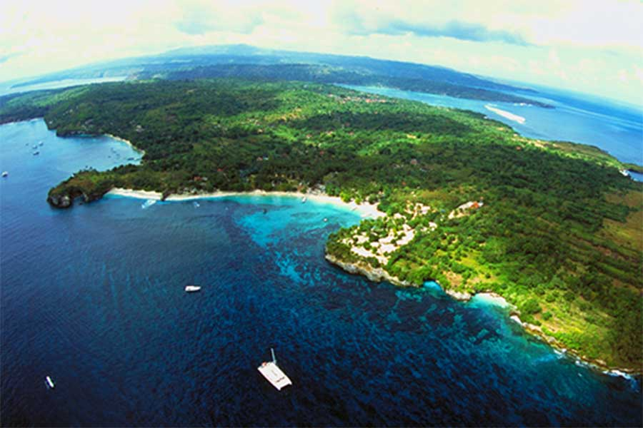 Nusa Penida Islands view