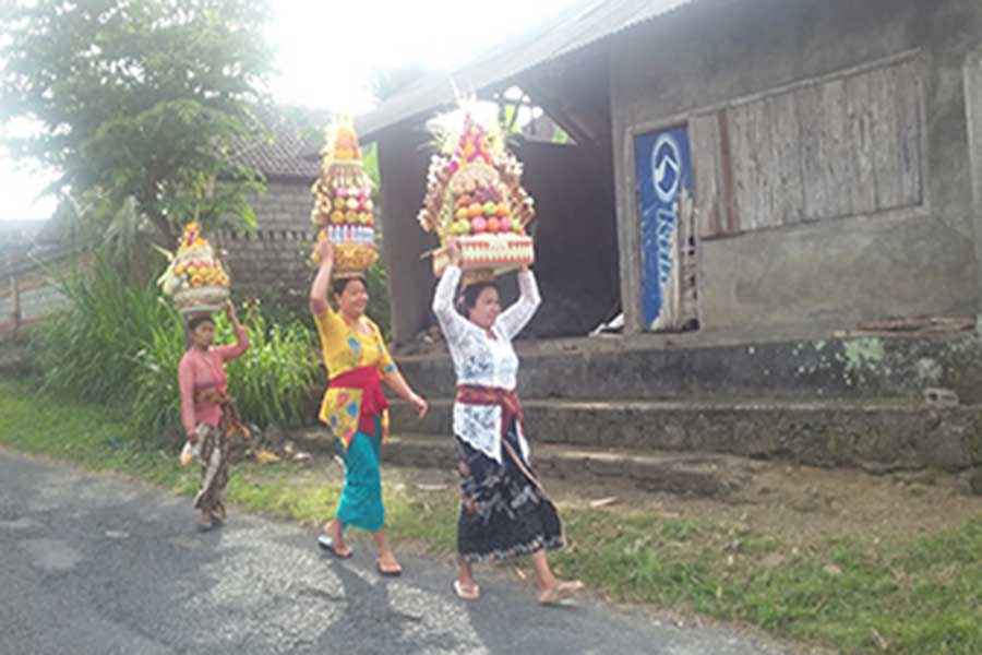 local peoples, bali volcano, bali moon bike
