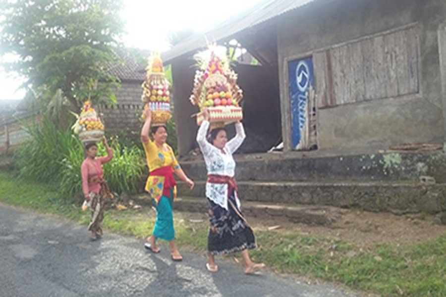local peoples, bali volcano, bali moon bike