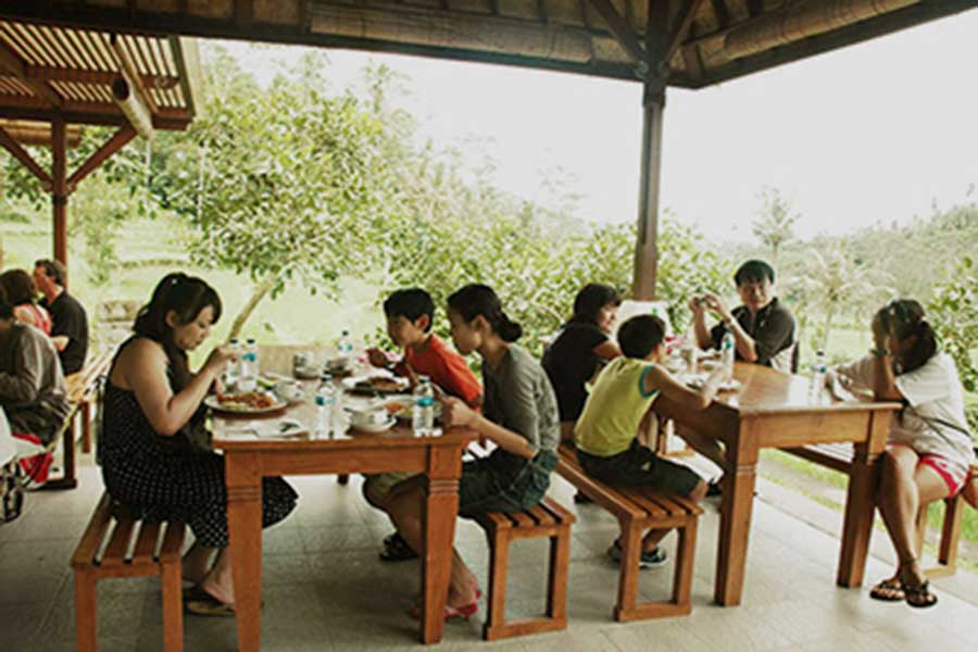 lunch, panorama restaurant, finish point