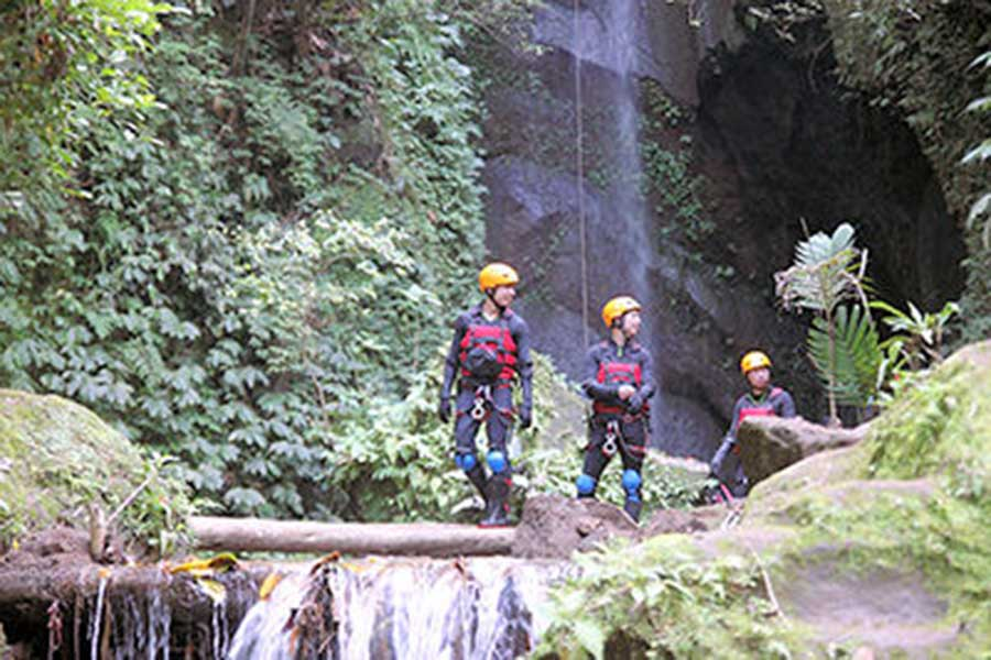penet river, adventure, canyoning