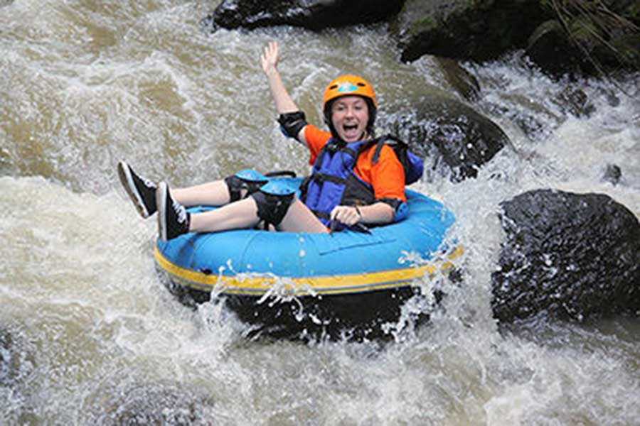 rapid, penet river, tubing