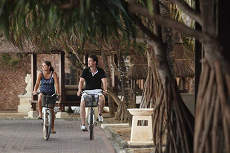 sanur village cycling tour