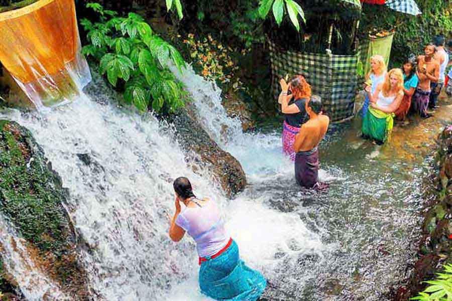 sebatu, holy spring water