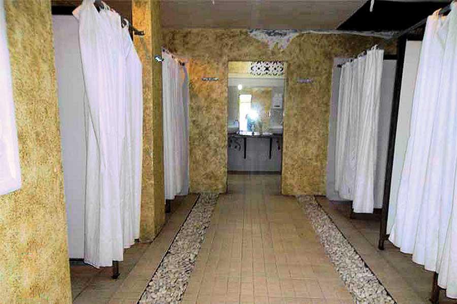 showering, facilities, true bali experience