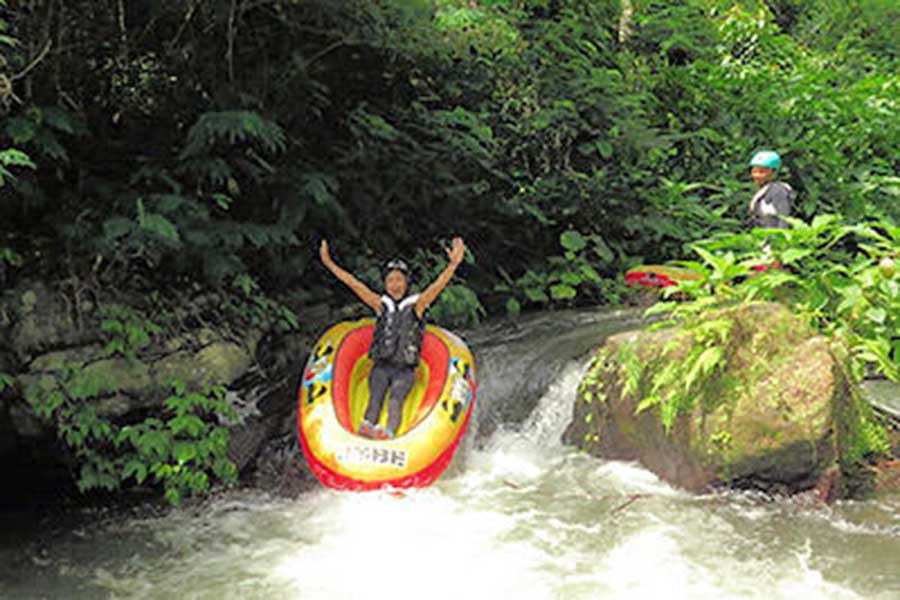 siap river, bali canyon tubing, quad adventure with tubing