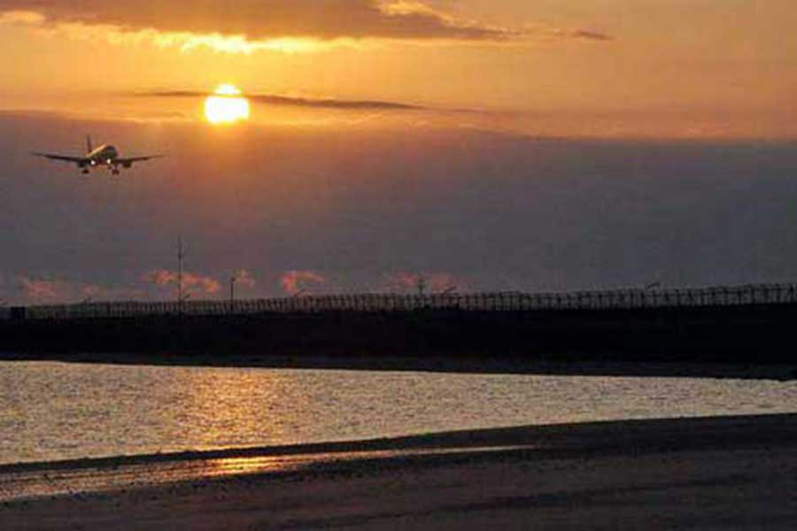 sunset view kelan beach bali
