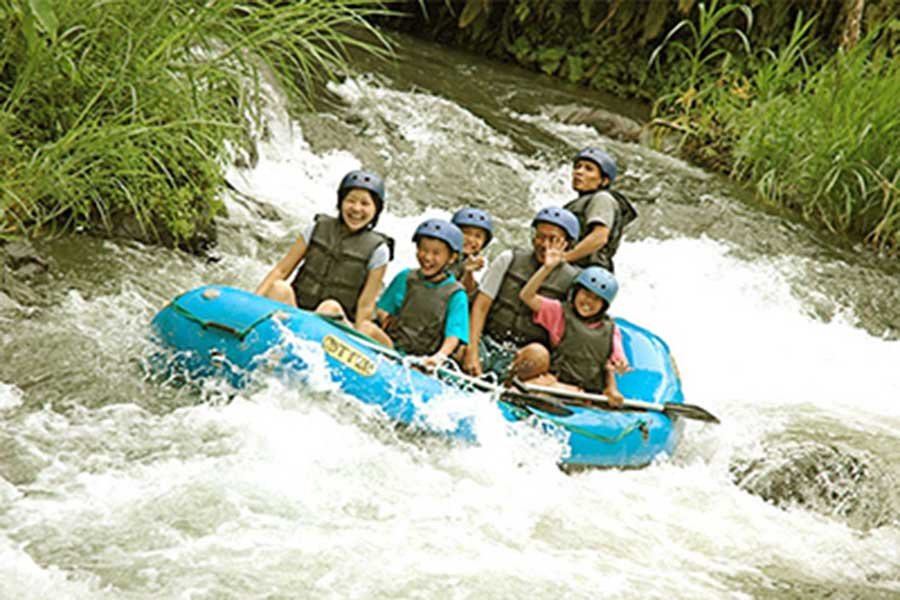telaga waja rafting, club aqua, bali big day out