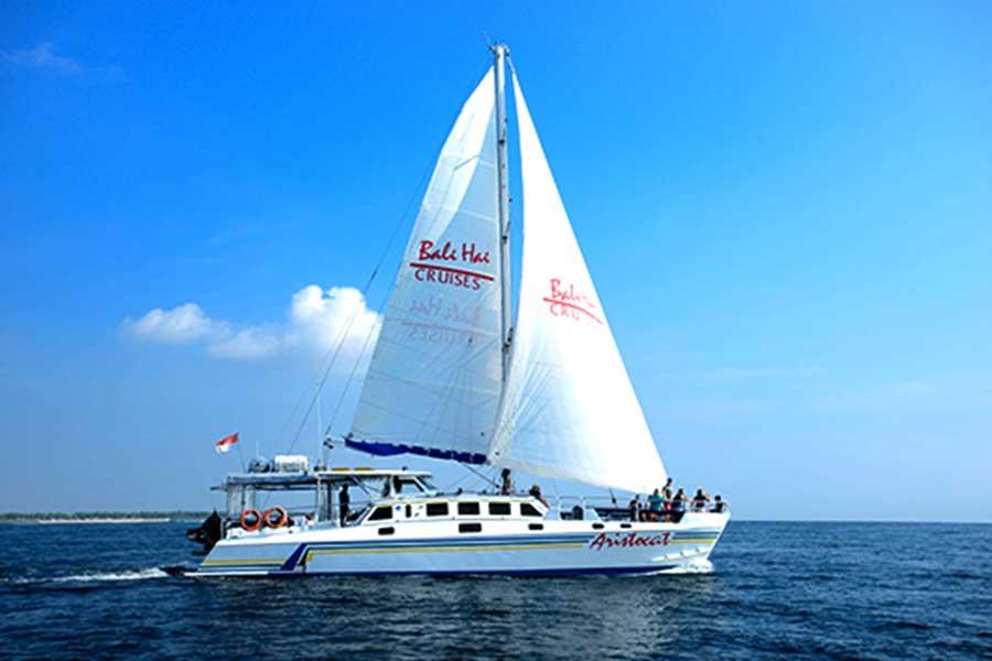 aristocat sailing cruise, bali hai cruise nusa penida