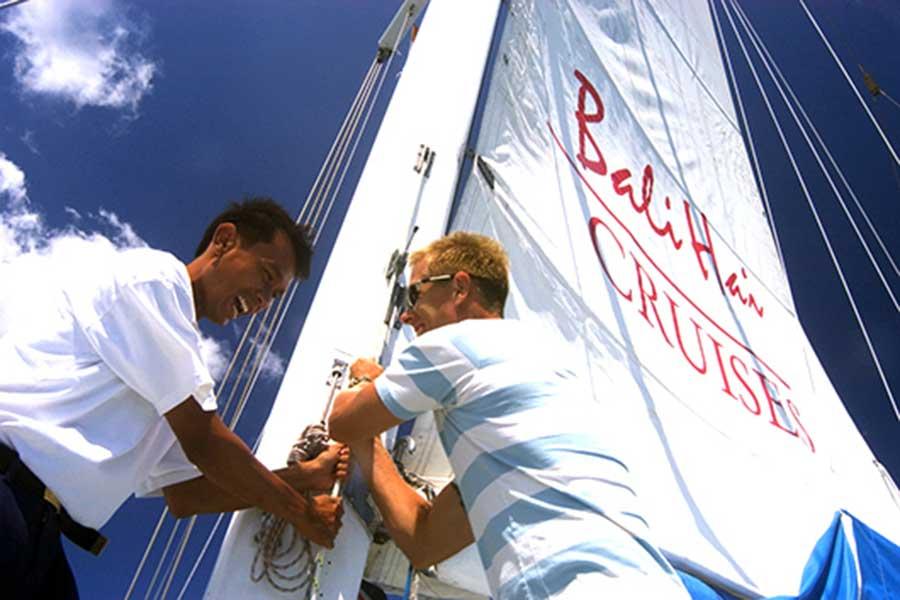 sailing cruise, catamaran cruise, nusa penida cruise