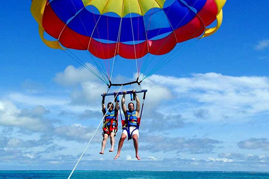 parasailing adventure, batara water sports tanjung benoa