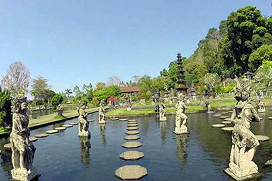 tirta gangga, bali water palace, east bali