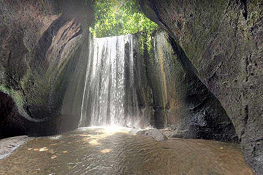 tukad cepung waterfall, bali waterfall, bali tour