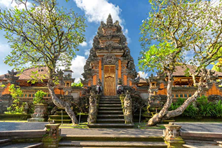 honeymoon package bali, ubud palace, ubud tour
