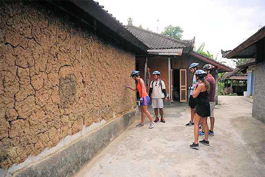 village visit, jatiluwih cycling tour